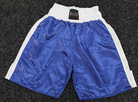 Ultra White Collar Boxing(UWCB) - Blue Boxing Shorts