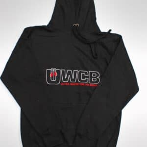 Ultra White Collar Boxing(UWCB) Hoodie - Front