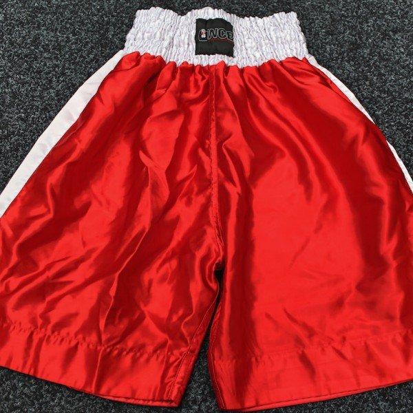 Ultra White Collar Boxing(UWCB) - Red Boxing Shorts
