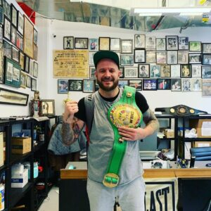 Me and the WBC belt